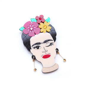 Frida Brooch