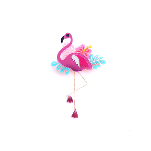 Flamingo Brooch