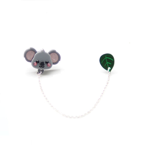 Koala Collar Brooch