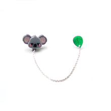 Load image into Gallery viewer, Koala Collar Brooch