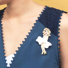 Load image into Gallery viewer, Marilyn Monroe Brooch