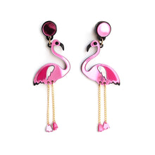 Load image into Gallery viewer, Flamingo Earrings