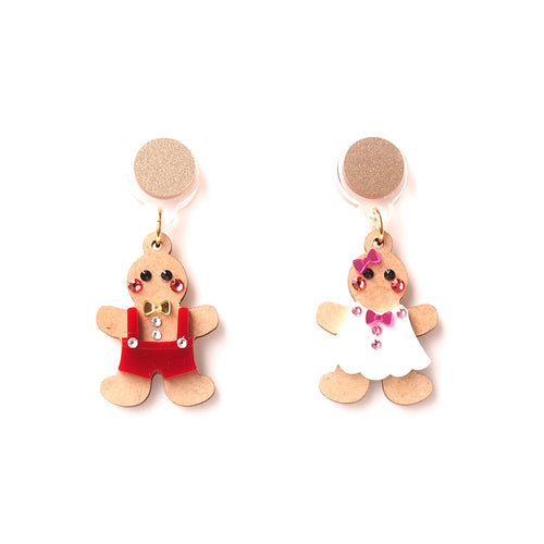 Ginger Bread Earrings