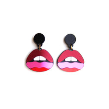 Load image into Gallery viewer, Lips Earrings