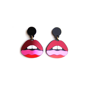 Lips Earrings