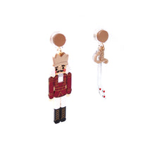 Load image into Gallery viewer, Nutcracker Earrings - Red