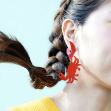 Load image into Gallery viewer, Crab Earrings