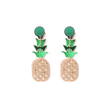 Load image into Gallery viewer, Pineapple Earrings