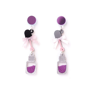 Nail Polish Earrings