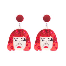 Load image into Gallery viewer, Yayoi Pumpkin Earrings