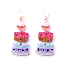 Load image into Gallery viewer, Cake Earrings