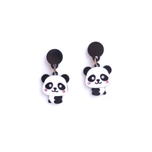 Load image into Gallery viewer, Little Panda Earrings