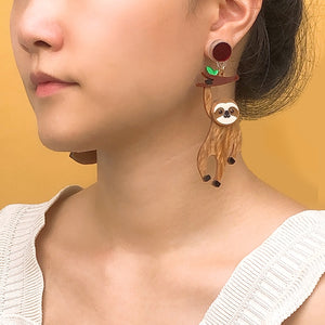 Sloth Dangle Earrings