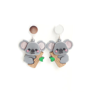 Koala Dangle Earrings