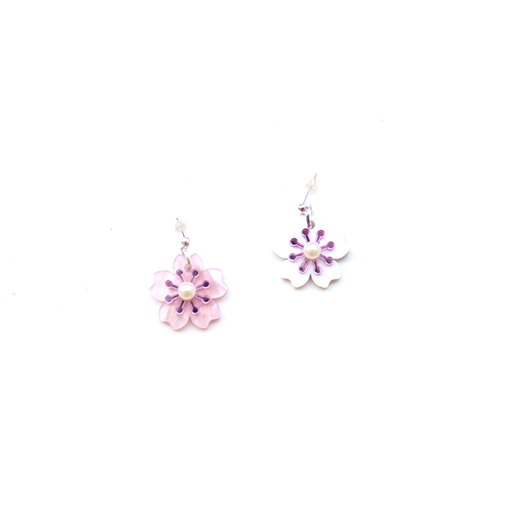 Sakura Single Earrings