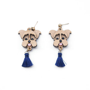 Terry Head Dangle Earrings