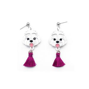 Shuh Tzu Head Dangle Earrings