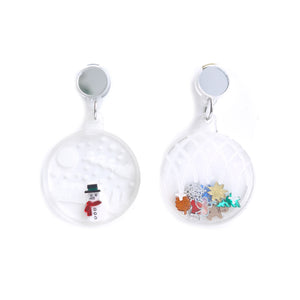 Xmas Bauble Earrings