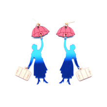 Load image into Gallery viewer, Mary Poppins Earrings