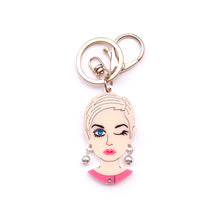 Load image into Gallery viewer, Twiggy Keychain