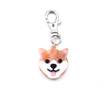 Load image into Gallery viewer, Shiba Inu Keychain/ Dog Tag