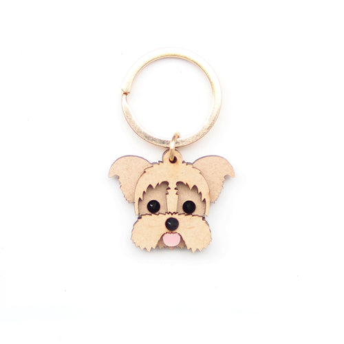 Terry Keychain/ Dog Tag