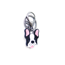 Load image into Gallery viewer, Frenchie Keychain/ Dog Tag