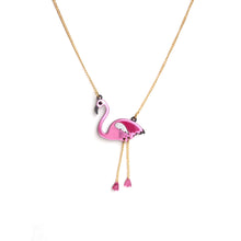 Load image into Gallery viewer, Flamingo Pendant Necklace
