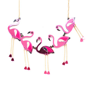 Flamingo Statement Necklace