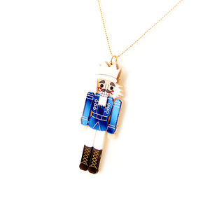 Nutcracker Pendant - Blue