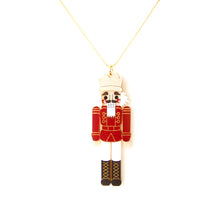 Load image into Gallery viewer, Nutcracker Pendant - Red
