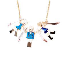 Load image into Gallery viewer, Nutcracker Statement Necklace - Blue