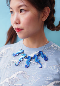 Seahorse Statement Necklace