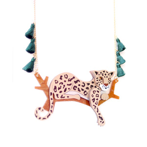 Leopard Statement Necklace