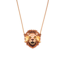 Load image into Gallery viewer, Lion Pendant Necklace