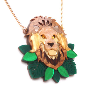 Lion Statement Necklace