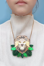 Load image into Gallery viewer, Lion Statement Necklace