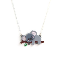 Load image into Gallery viewer, Koala Pendant Necklace