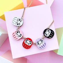 Load image into Gallery viewer, Daruma Statement Necklace
