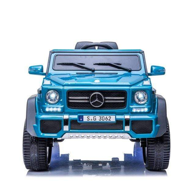 24 Volt Mercedes Maybach Landaulet Special Edition G-Wagon Luxury Kids Truck - Elegant Electronix