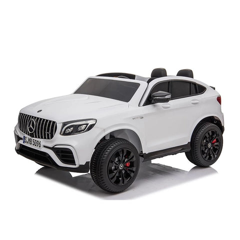 Image of 24 Volt Licensed Mercedes Kids SUV with Touchscreen TV  and Parental Remote | 2 Seater
