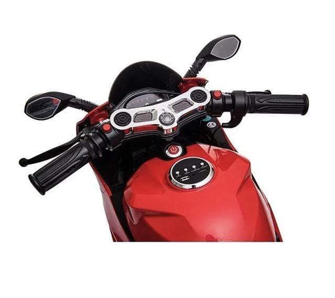 Image of 24V Ducati Style Electric Mini Motorcycle with MP3 System - Elegant Electronix