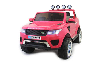 4x4 Land Rover with Touch Screen RC Electric Ride on Car with Parental Remote Control | Pink