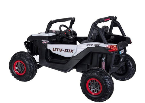 4x4 Off-Road Kids Buggy UTV with Touchscreen TV and EVA Wheels - Elegant Electronix