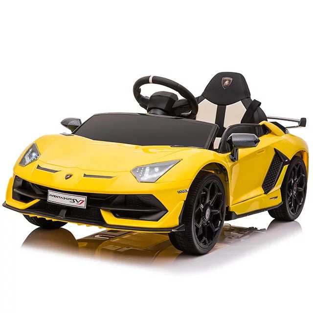 Lamborghini Aventador Kids Car with Parental Remote