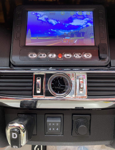 Image of Licensed Lexus LX570 with Touchscreen TV and Parental Remote | White