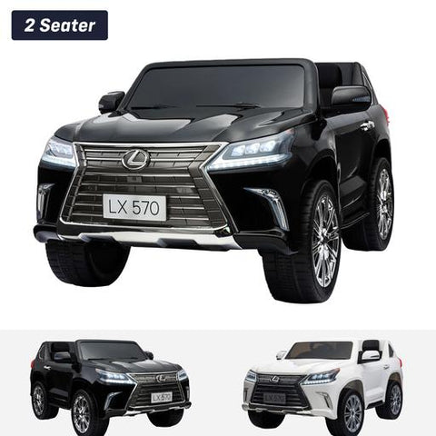 Image of Licensed Lexus LX570 with Touchscreen TV and Parental Remote | Candy Apple Red