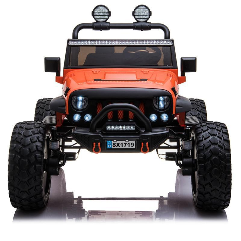 4x4 Lifted Kids Jeep with Bluetooth and Parental Remote