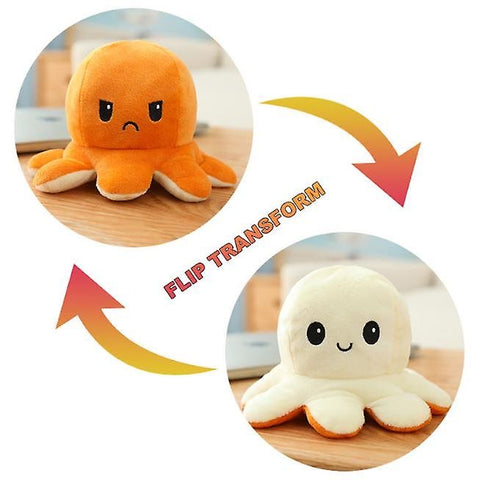 Image of Reversible Mini Plush Mood Octupus