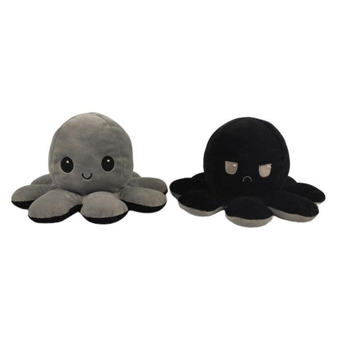 Reversible Mini Plush Mood Octupus